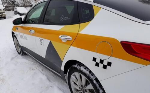 Оклейка такси для подмосковья