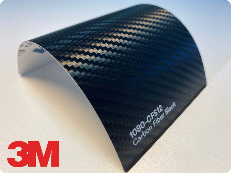 3M Wrap Film Series 1080-CFS12, Carbon Fiber Black
