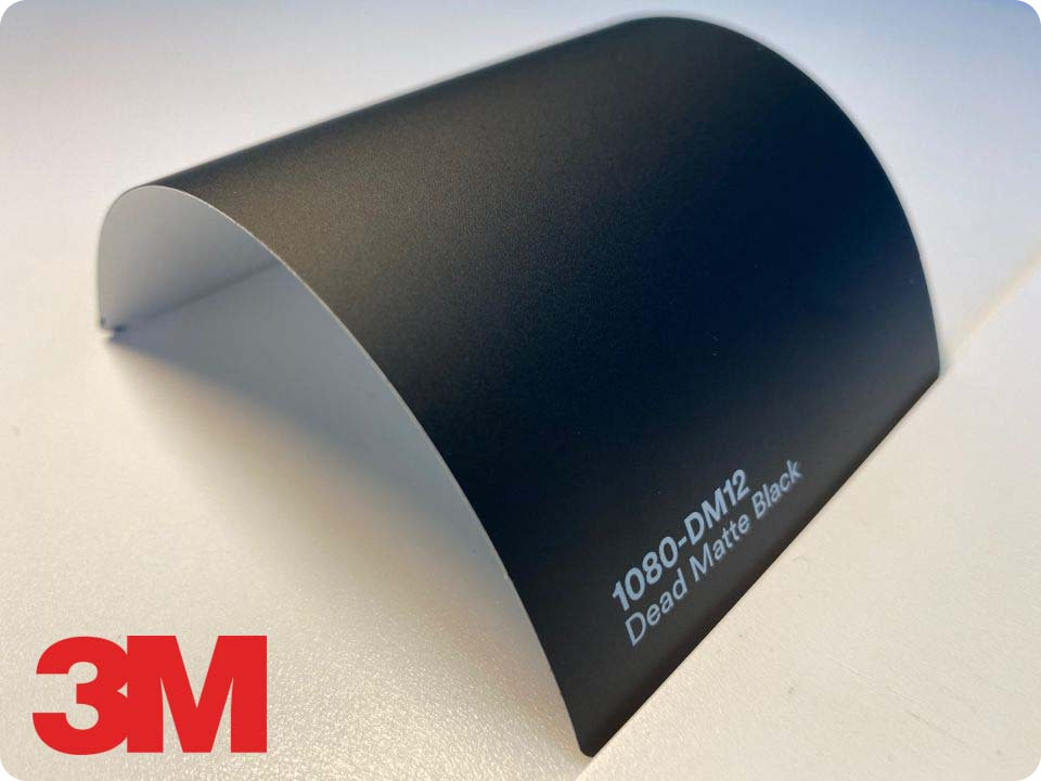 3M Wrap Film Series 1080-DM12, Dead Matte Black