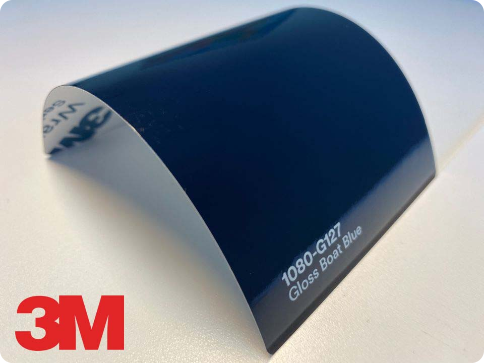 3M Wrap Film Series 1080-G127, Gloss Boat Blue