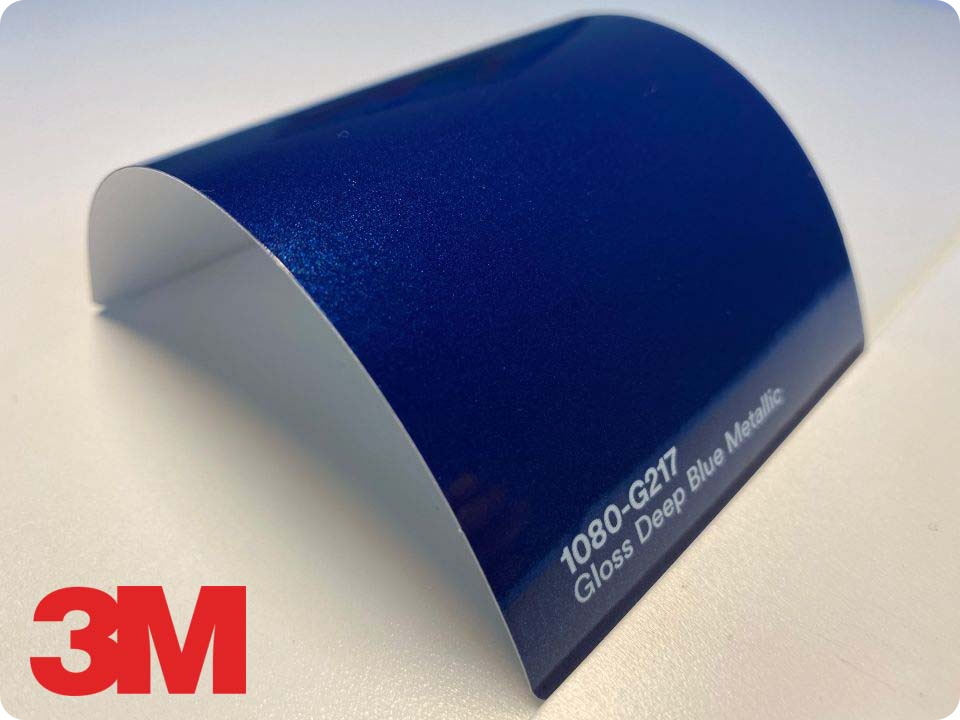 3M Wrap Film Series 1080-G217, Gloss Deep Blue Metallic