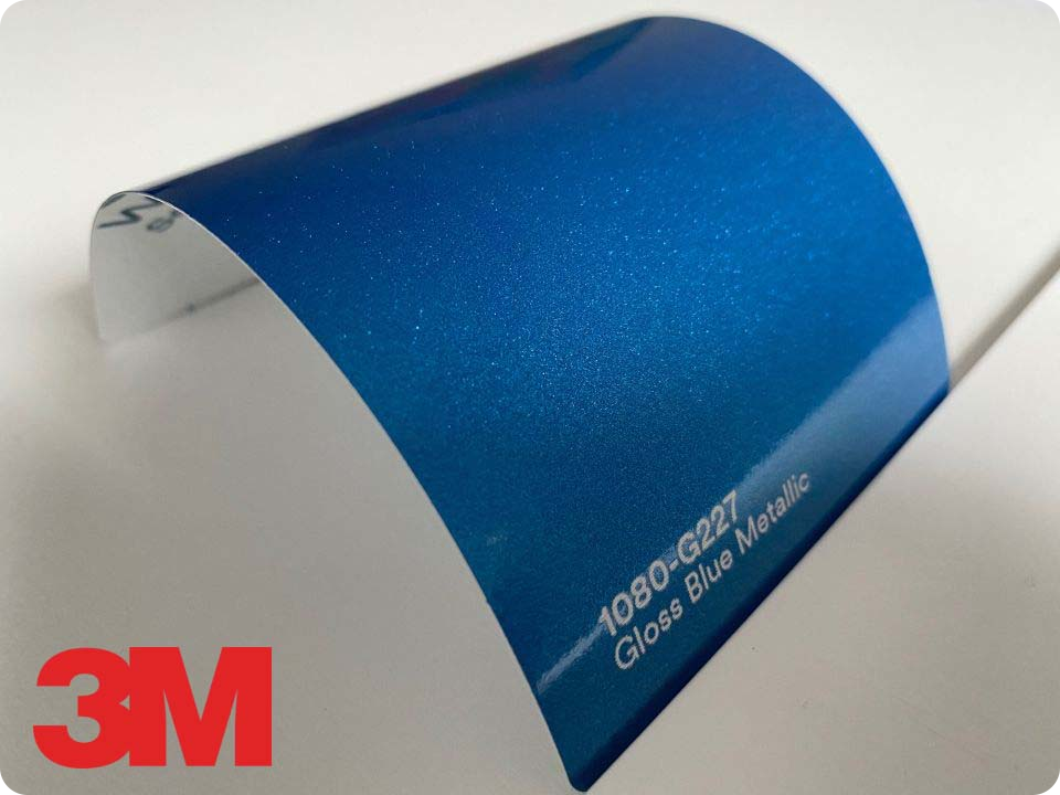 3M Wrap Film Series 1080-G227, Gloss Blue Metallic
