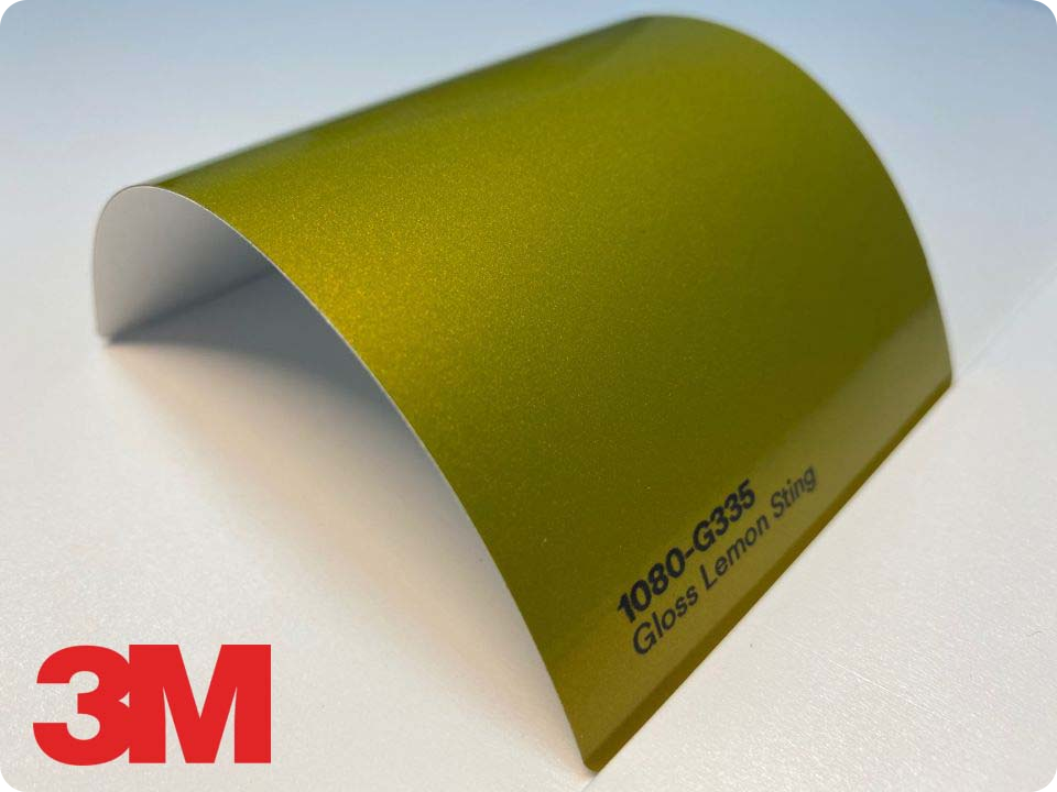 3M Wrap Film Series 1080-G335, Gloss Lemon Sting