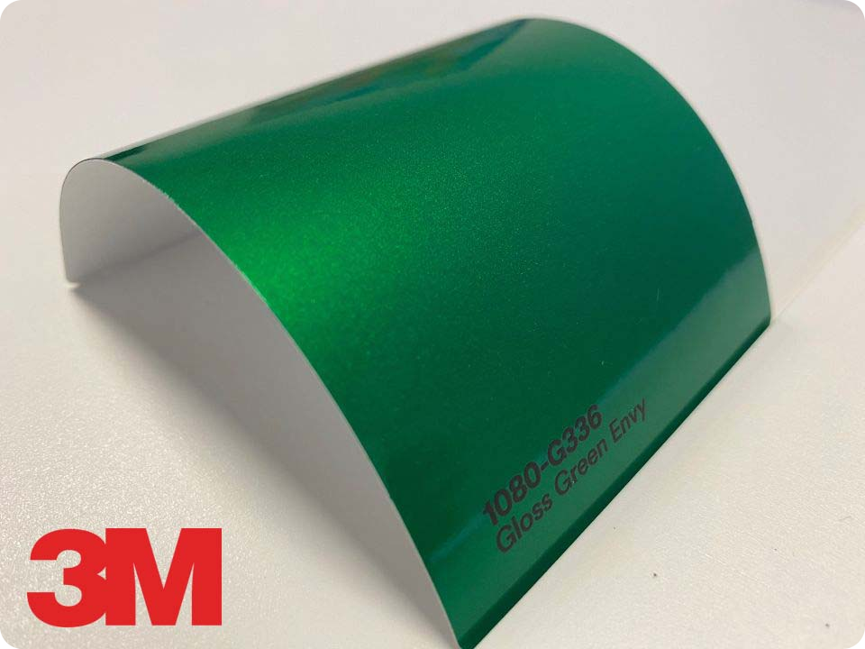 3M Wrap Film Series 1080-G336, Gloss Green Envy