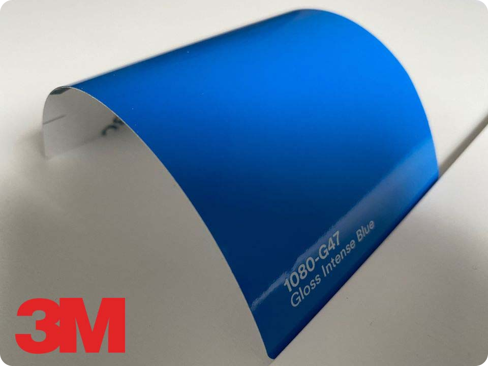 3M Wrap Film Series 1080-G47 Gloss Intense Blue