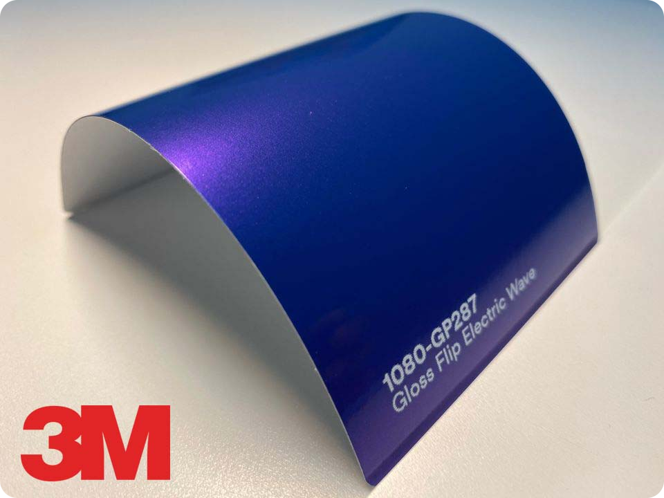 3M Wrap Film Series 1080-GP287, Gloss Flip Electric Wave