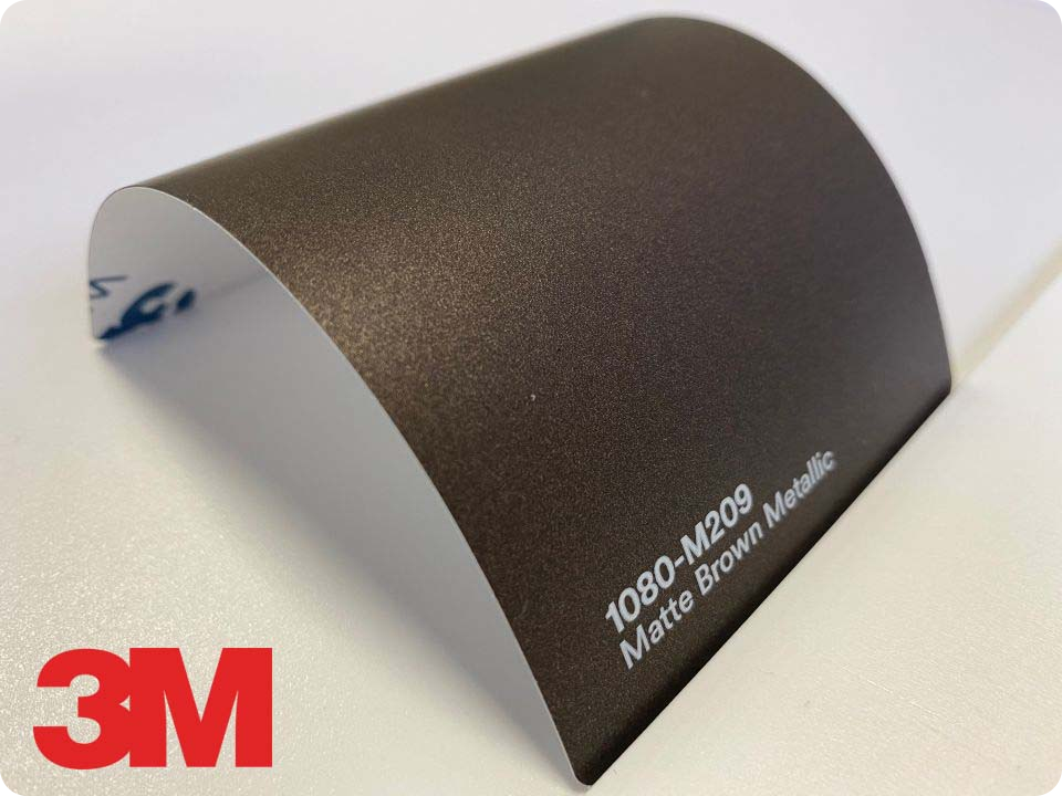3M Wrap Film Series 1080-M209, Matte Brown Metallic