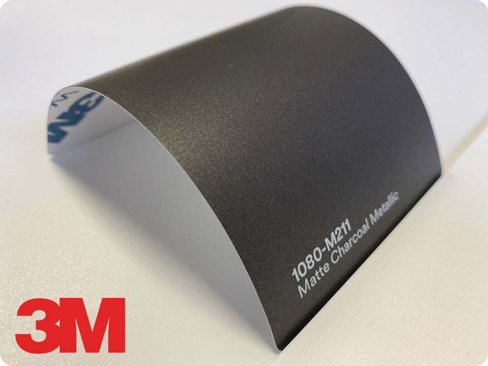 3M Wrap Film Series 1080-M211, Matte Charcoal Metallic