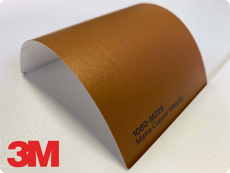 3M Wrap Film Series 1080-M229, Matte Copper Metallic