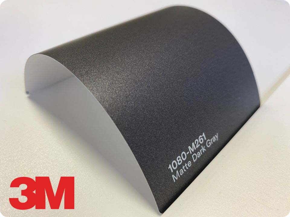 3M Wrap Film Series 1080-M261, Matte Dark Gray