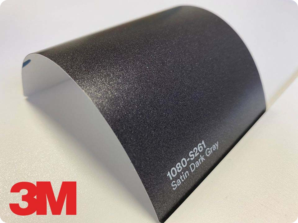 3M Wrap Film Series 1080-S261, Satin Dark Gray