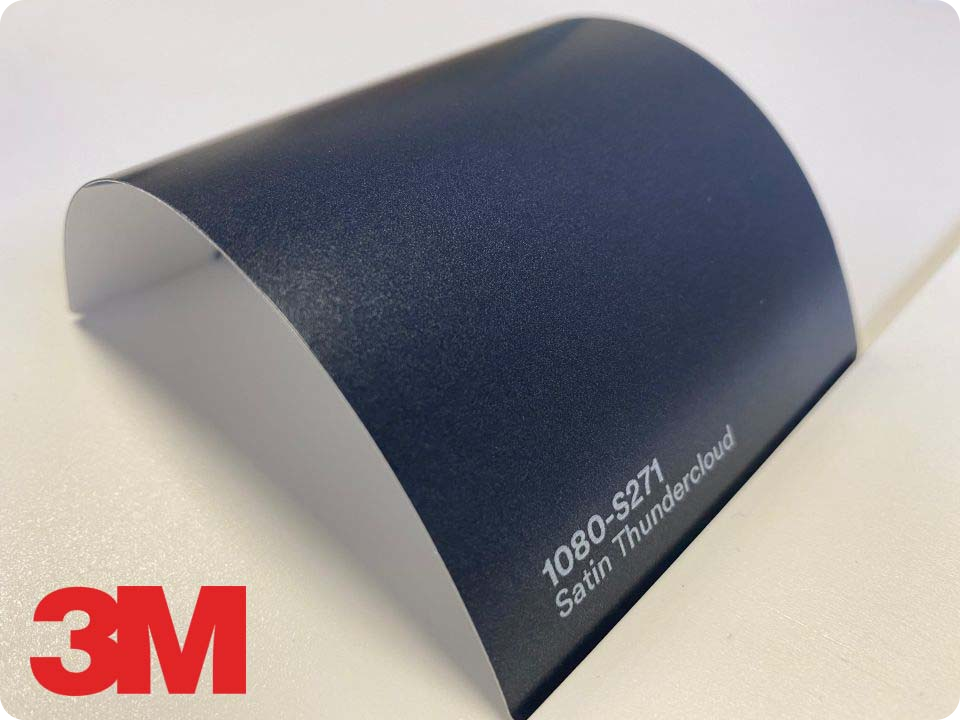 3M Wrap Film Series 1080-S271, Satin Thundercloud