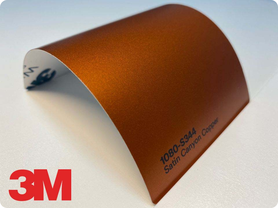 3M Wrap Film Series 1080-S344, Satin Canyon Copper