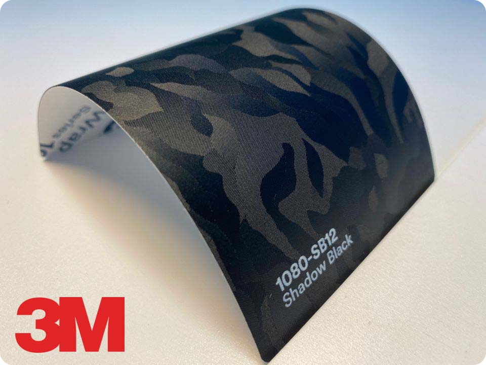 3M Wrap Film Series 1080-SB12, Shadow Black