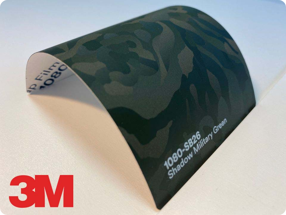3M Wrap Film Series 1080-SB26, Shadow Military Green