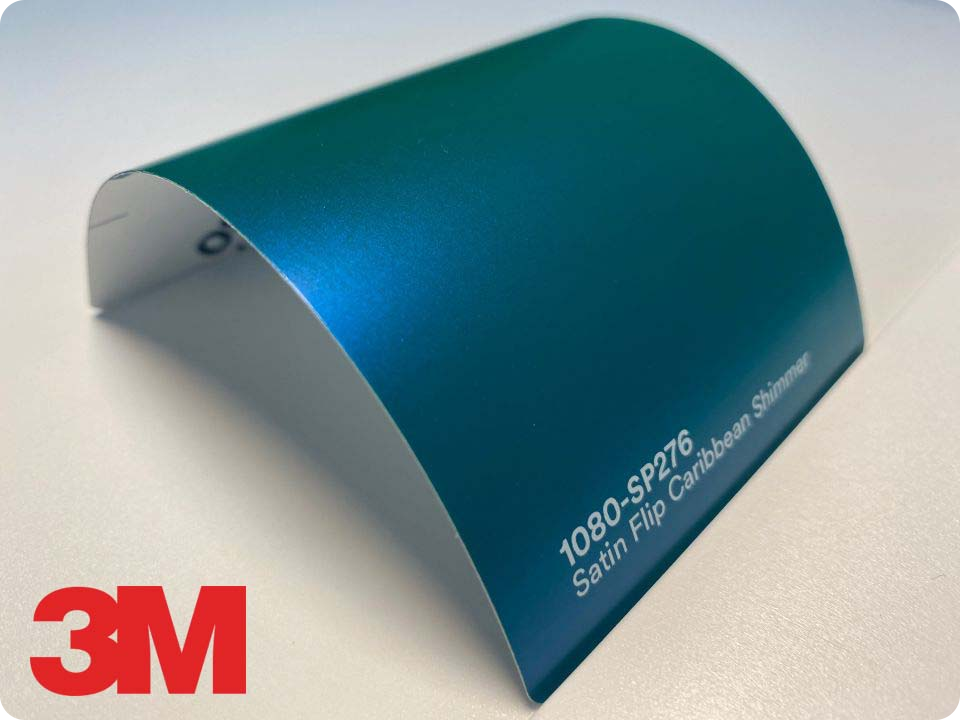 3M Wrap Film Series 1080-SP276, Satin Flip Caribbean Shimmer