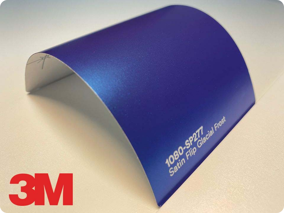 3M Wrap Film Series 1080-SP277, Satin Flip Glacial Frost