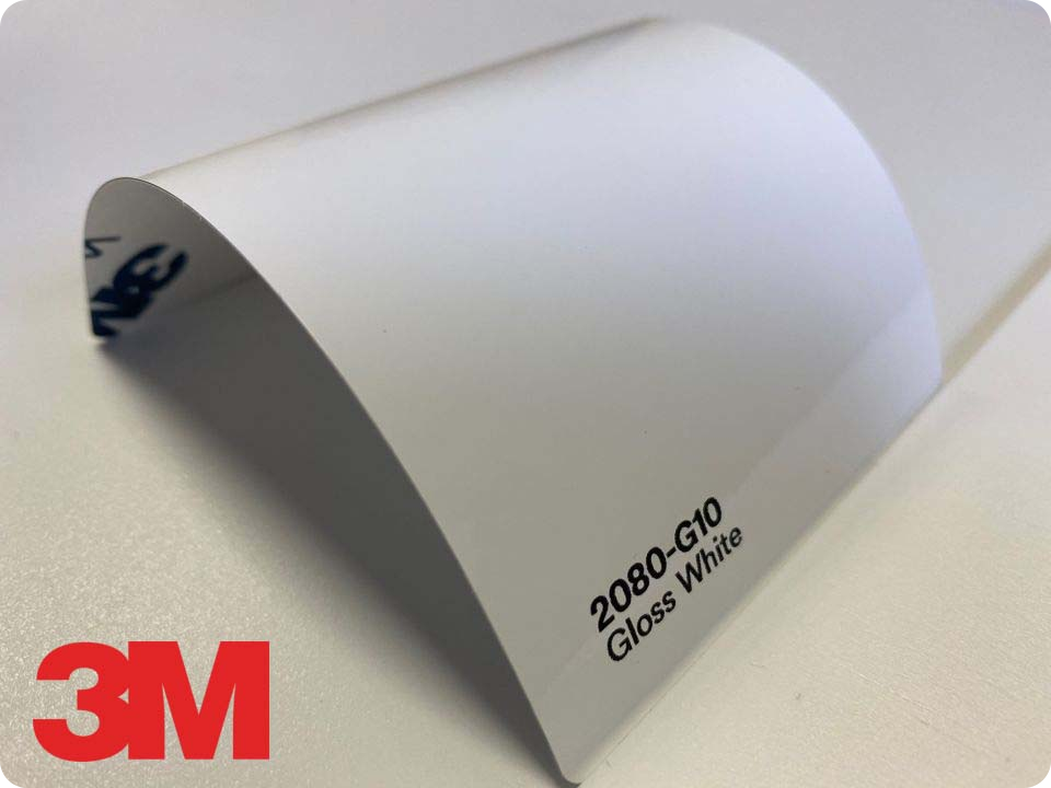 3M Wrap Film Series 2080-G10, Gloss White