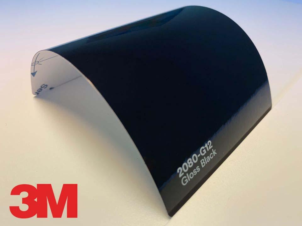 3M Wrap Film Series 2080-G12, Gloss Black
