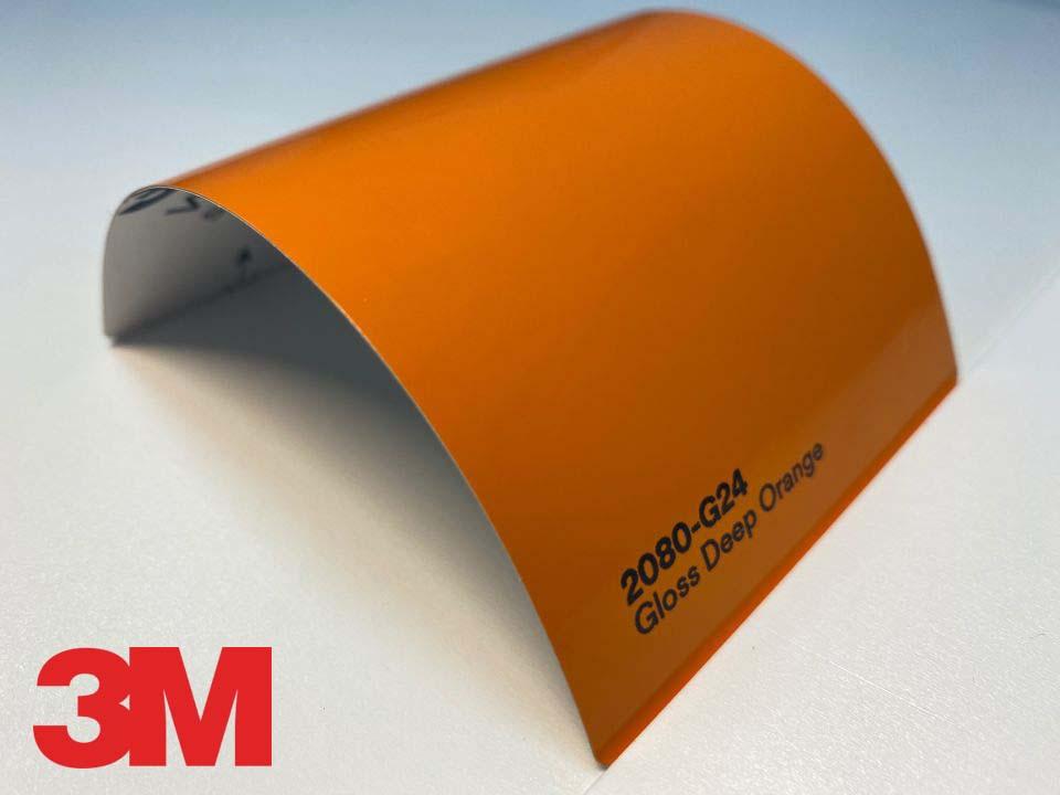 3M Wrap Film Series 2080-G24, Gloss Deep Orange