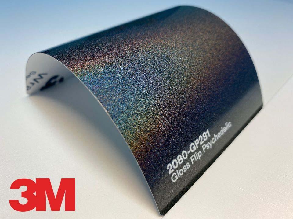 3M Wrap Film Series 2080-GP281, Gloss Flip Psychedelic