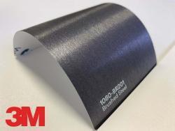 3M Wrap Film Series 1080-BR201, Brushed Steel