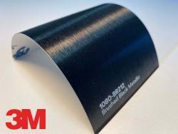 3M Wrap Film Series 1080-BR212, Brushed Black Metallic