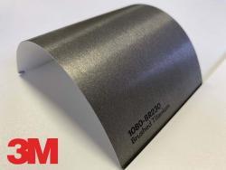 3M Wrap Film Series 1080-BR230, Brushed Titanium