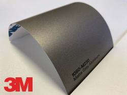 3M Wrap Film Series 1080-M230, Matte Gray Aluminum